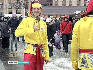 Воронежцы проводили зиму и встретили весну