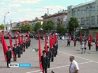 Воронежцы встретили 66 годовщину Великой Победы с размахом