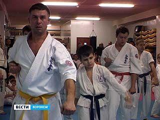 Воспитанники воронежской школы каратэ киокусинкай провели первые соревнования