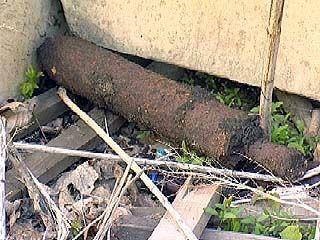 Возле общежитий на Хользунова обнаружено два килограмма тротила