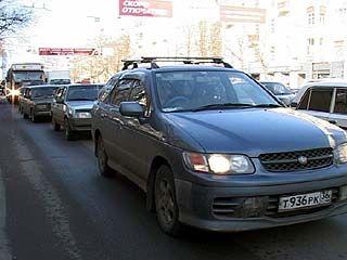 Всемирный день без автомобиля прошёл в Воронеже с автомобилями
