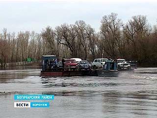 Вторая волна паводка - на юге Воронежской области