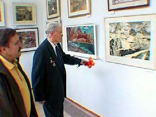 Выставка Николая Василенко открылась в выставочном зале на Кирова