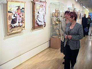 Выставка семейного творчества открыта в Воронеже