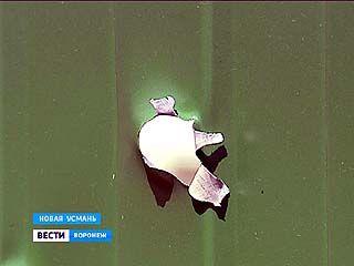 Выстрелы в Новой Усмани. Полиция 10 часов не могла унять дебошира, который заперся в доме и отстреливался