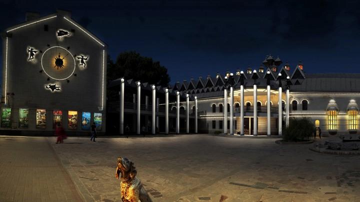 Мэрия опубликовала эскизный проект архитектурной подсветки зданий в центре Воронежа