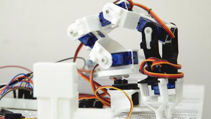 Воронежский госуниверситет начал подготовку робототехников