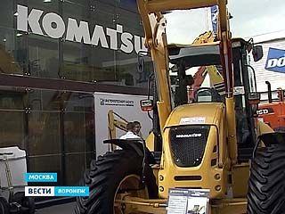 """Японская компания """"Komatsu"""" продемонстрировала свои достижения на выставке"""