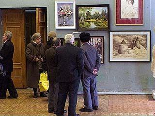 "Юбилей клуба народного творчества ""Весна"" ознаменовала выставка"