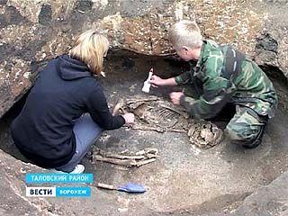 Юные археологи в Таловском районе нашли несколько погребений бронзового века