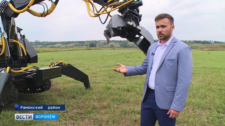 В Воронеже начали собирать не имеющего аналогов в мире робота-силача