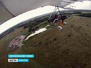 За порядком в Воронежском биосферном заповеднике теперь следят с дельтаплана
