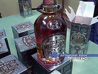 Задержана крупная партия нелегального алкоголя