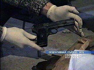 Задержаны трое жителей Воронежа за незаконный оборот оружия
