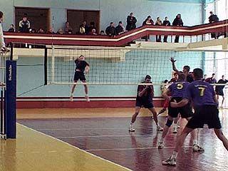 Закончилась спартакиада области по волейболу