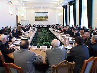 Заседание Региональной коллегии завершилось в обладминистрации