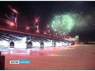 Завершились торжества в честь освобождения Воронежа красочным фейерверком