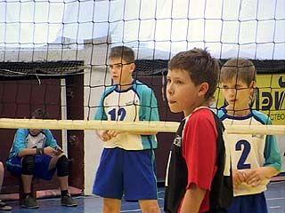 Завершилось первенство области по детскому волейболу