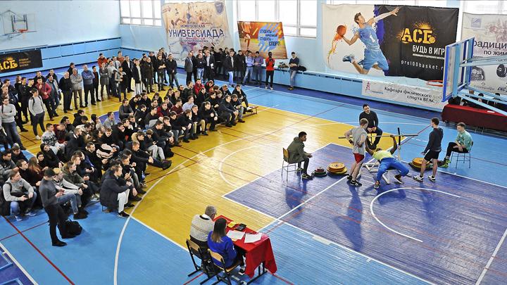 Воронежский опорный университет признан лучшим в стране по спортивной подготовке студентов