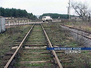 Железнодорожный переезд села Заброды - под охраной жителей