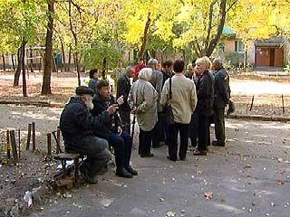 Жильцы дома ╧179 по Ленинскому проспекту вышли на пикет