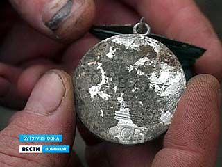 """Житель Бутурлиновки нашёл настоящую медаль """"За отвагу"""""""