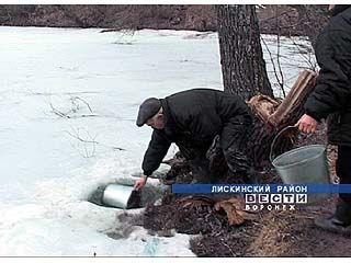 Жители хутора Шепелев пьют воду прямо из пруда