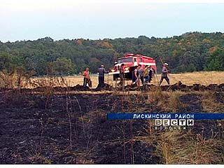 Жители хутора Шепелев встали на его защиту от огня