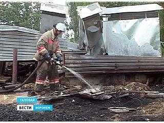 Жители одного из многоквартирных домов в Таловой остались без крыши над головой