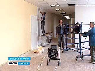 Жители Орловки Таловского района с нетерпением ждут открытия школы