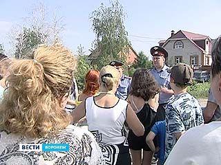 Жители поселков Репное и Отрадное протестуют против появления рынка