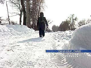 Жители села Щербачёвка спасены из снежного плена