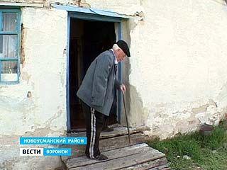 Зимой в доме инвалида Великой Отечественной Войны Петра Гнеушева жить невозможно