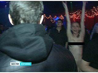 Золотую молодежь Воронежа проверили на наркотики