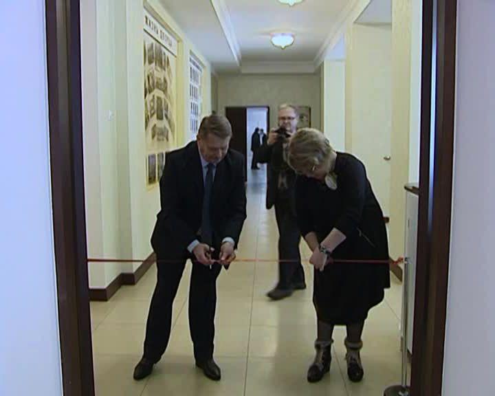 В Семилукском районе состоялось открытие музея после реконструкции