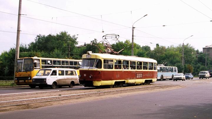 2 июня 2001 года. В Воронеже закрылась самая загруженная трамвайная ветка