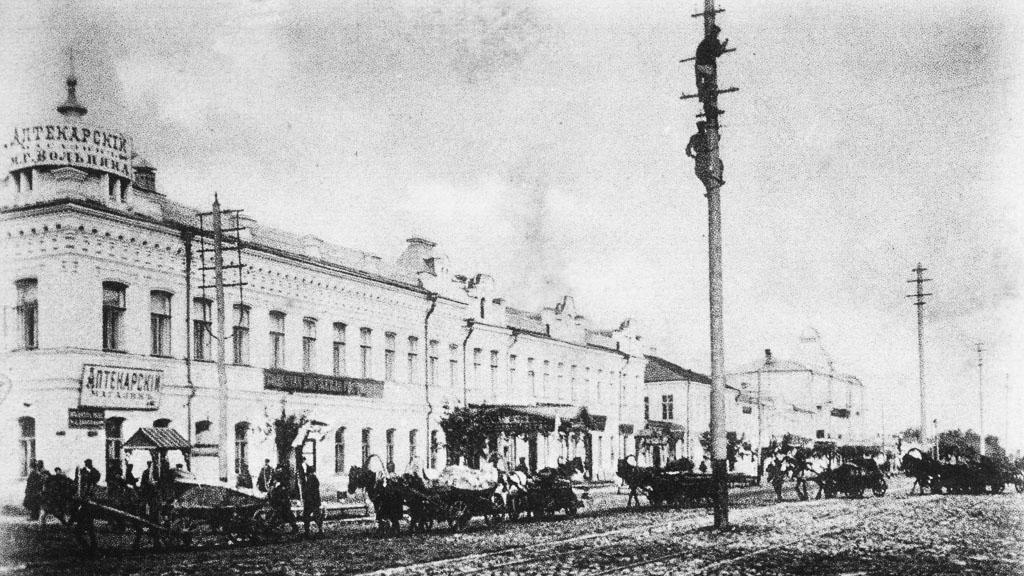 19 декабря 1897 года. Открылась Воронежская хлебная биржа