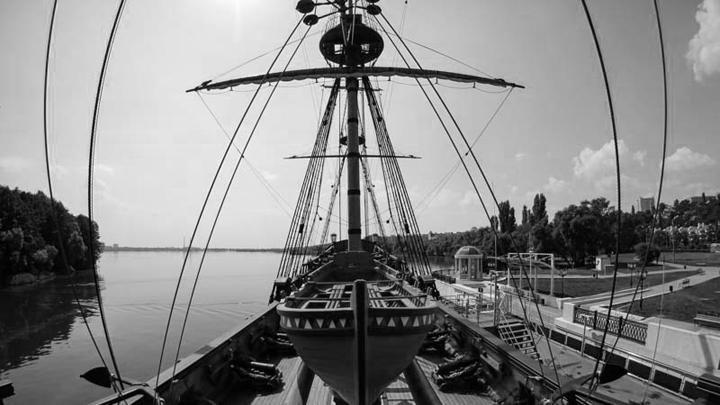 Май 1700 года. В Воронеже спустили на воду линкор «Гото Пpедестинация»