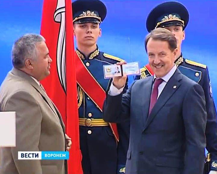 12 марта 2009 года Алексей Гордеев официально вступил в должность губернатора Воронежской области