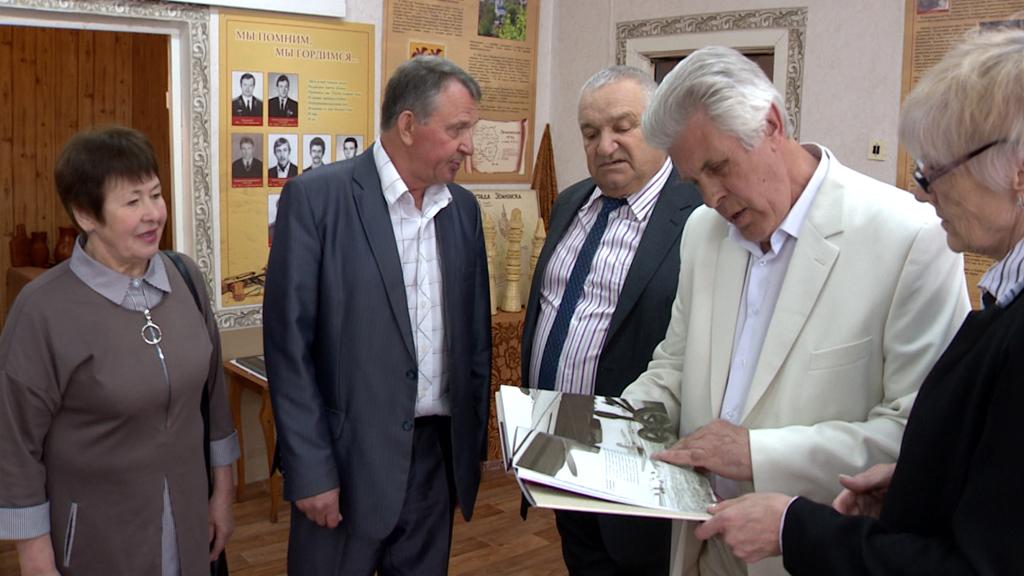 Воронежские края посетил «семилукский москвич» Анатолий Черкасов