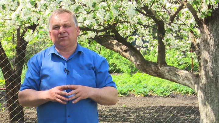 Воронежский агроном Иван Бабин рассказал о работах в цветущем саду