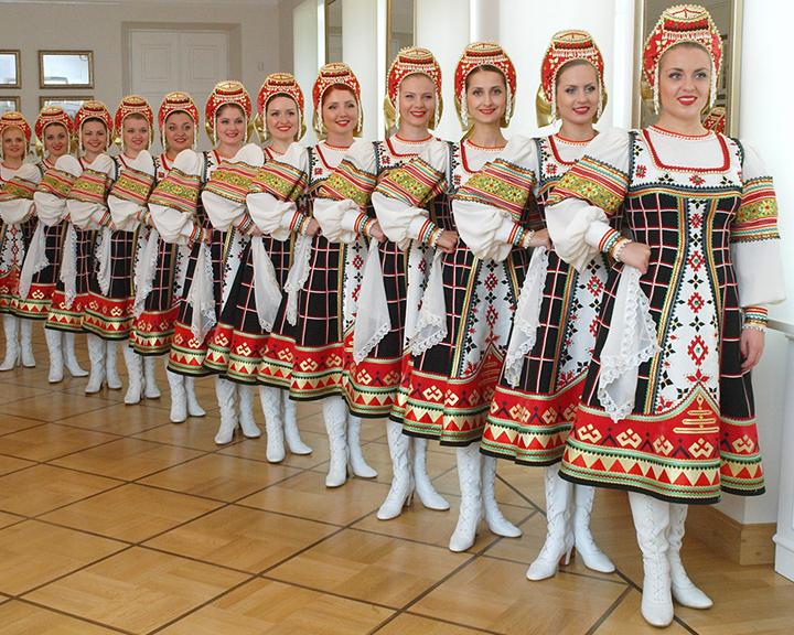 Ансамбль «Воронежские девчата» создан в апреле 1966 года