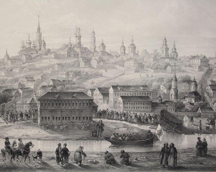 В марте 1774 года Екатерина II утвердила план регулярной застройки Воронежа