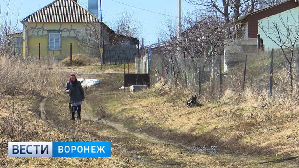 На карте Воронежской области становится всё больше вымирающих деревень