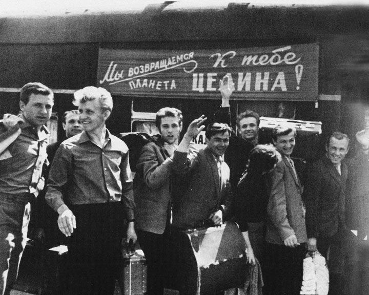 9 марта 1954 года 400 добровольцев из Воронежской области отправились осваивать целину