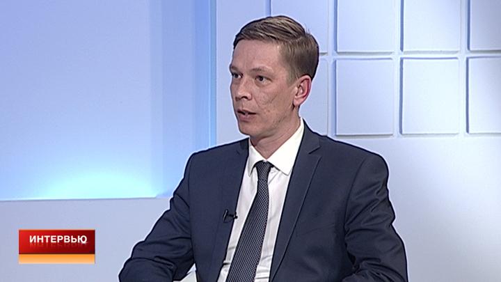 Интервью с руководителем управления дорожного хозяйства Воронежа Олегом Котовым