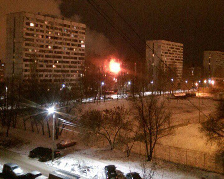ВВоронеже cотрудники экстренных служб эвакуировали 20 человек изгорящего дома