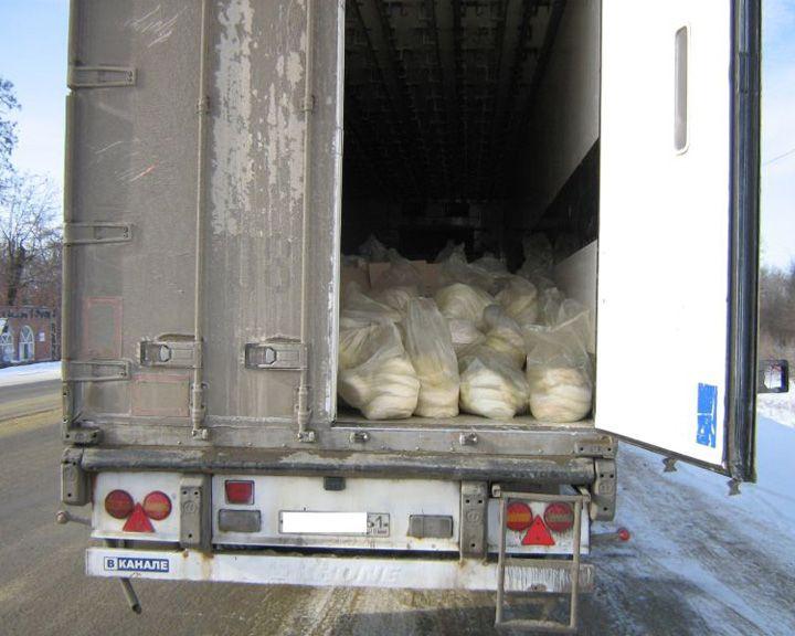 17 тонн сыра неизвестного происхождения недоехали доВоронежа