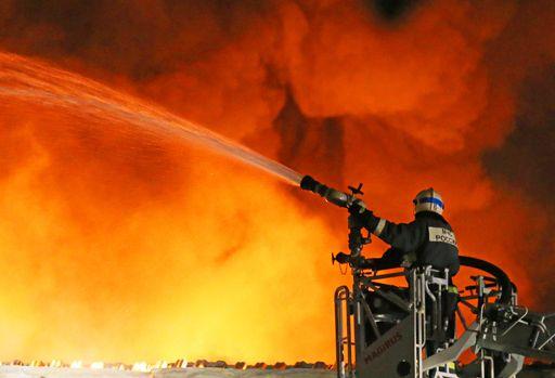 ВВоронеже накомбинате скорого питания произошёл пожар