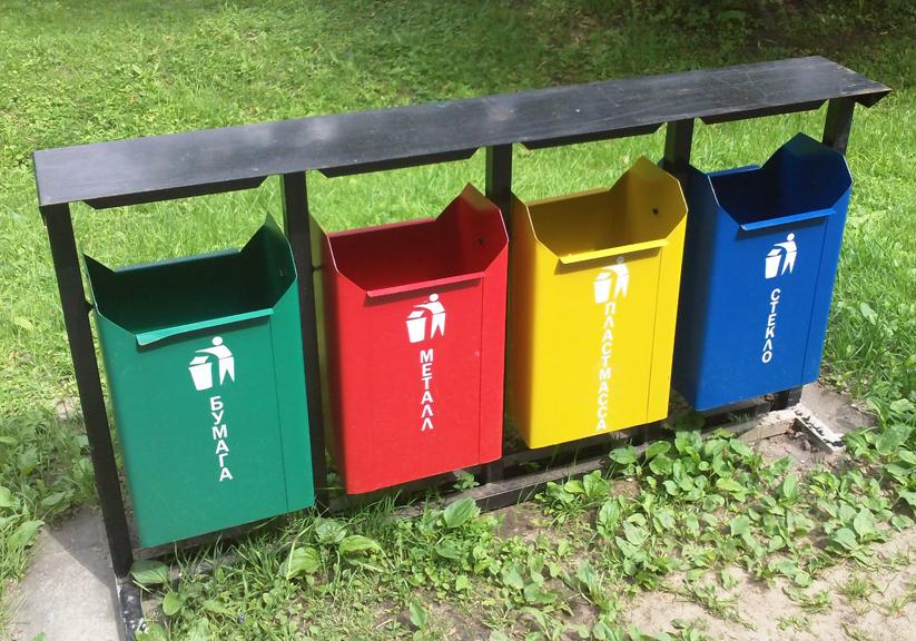 В 2-х воронежских парках появятся контейнеры для раздельного сбора мусора